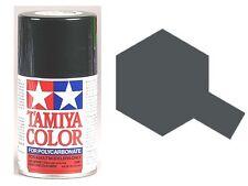 TAMIYA PS-23 GUNMETAL R/C Car Spray Lexan Polycarbonate Hobby Paint 3oz.