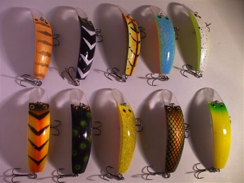 10X PEX TOP TOURNAMENT FISHING LURES 80mm 8.5g
