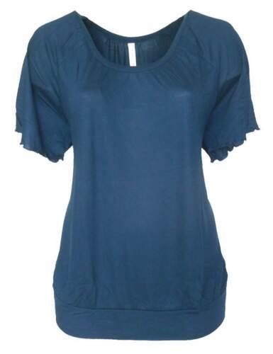 44 46 48 50 52 54 NEU SHEEGO Damen Shirt Longshirt dunkelblau GR S30