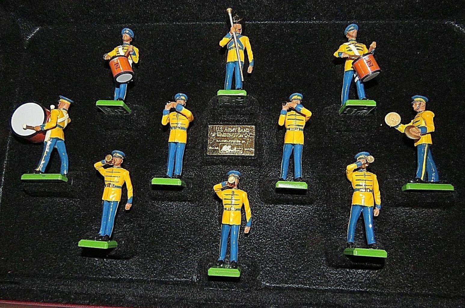 Britains 5391 UNITED STATES OF AMERICA WASHINGTON DC ARMY BAND Ltd Edition