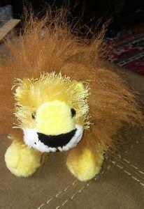 Webkinz-Ganz-Plush-Lil-039-Kinz-Lion-no-code-Retired