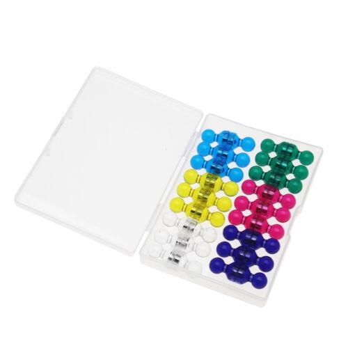 Magnetische Pin 36 Neodym Magnet Kegel in 6 Farben Ultrastarke Haftung für Tafel