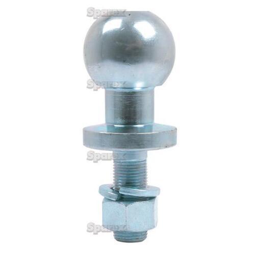 Sparex-Heavy Duty remolque Bola Pin-para ATV//Quad-Cromo 16 mm//50 mm