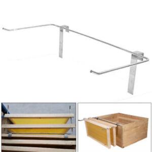 Beekeeper-Stainless-Steel-Beekeeping-Frame-Holder-Bee-Hive-Perch-Side-Mount-OJ