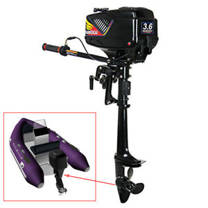 Outboard-Engine-Motor-3-6HP-2-Stroke-Engine-Fishing-Small-Boat-Dinghy-kayak-CDI