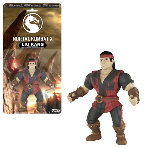 "Mortal Kombat X Liu Kang 5/"" Funko Articulated Vinyl Action Figure Model"