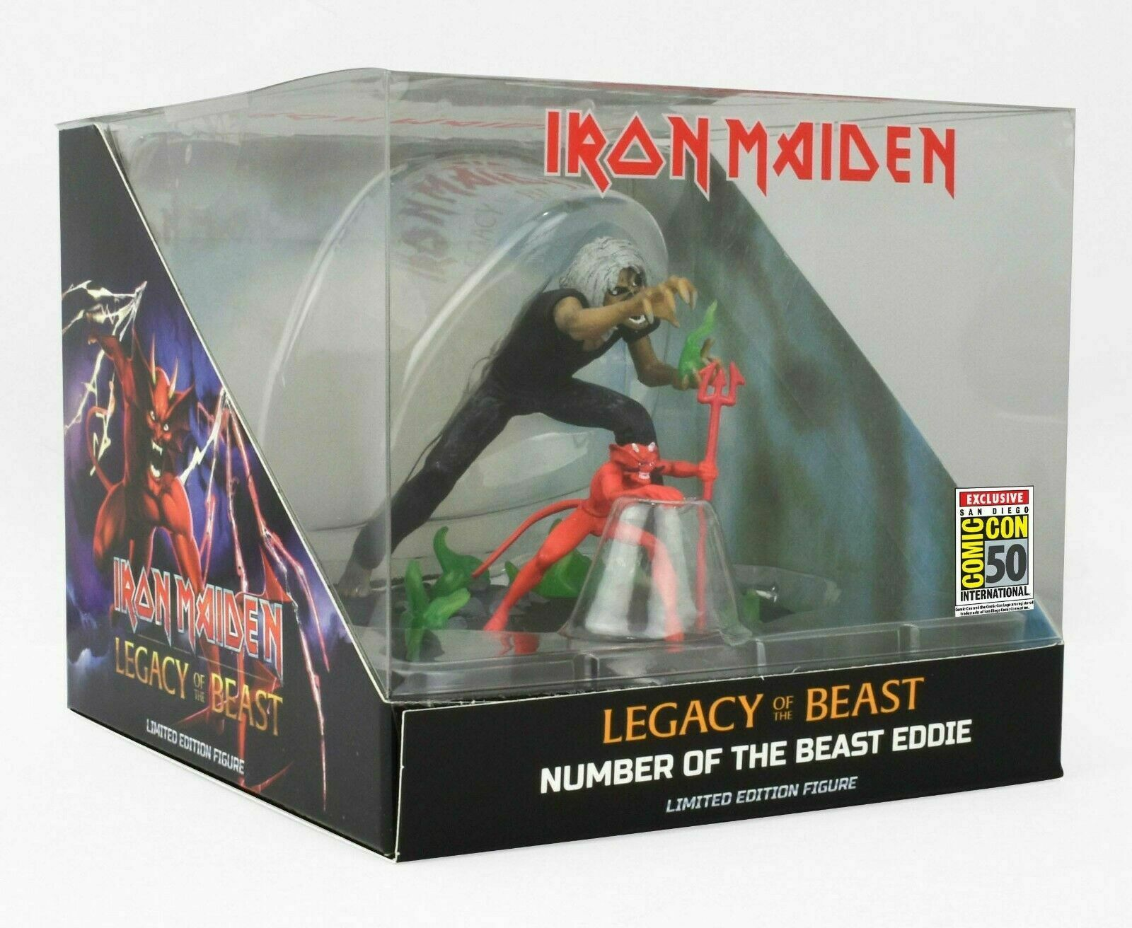 IRON MAIDEN MAIDEN MAIDEN Legacy Of The Beast cifra SDCC 2019 Comic Con EXCLUSIVE NIB 977588