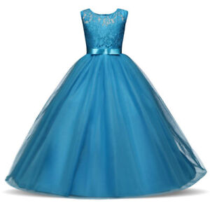 Flower-Girl-Dress-Princess-Formal-Birthday-Pageant-Holiday-Party-Bridesmaid-NEW