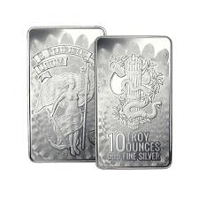 10 oz DGSE 0.999 Silver Bar - Unity Symbol Stamped