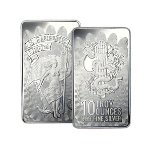 10-oz-DGSE-0-999-Silver-Bar-Unity-Symbol-Stamped