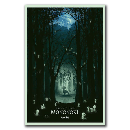 24x36 40inch E2826 Art Cartoon Japan Anime Princess Mononoke Poster Hot Gift