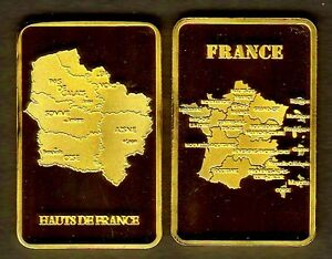 MAGNIFIQUE-LINGOT-PLAQUe-OR-NOUVELLE-REGION-HAUTS-DE-FRANCE-R2