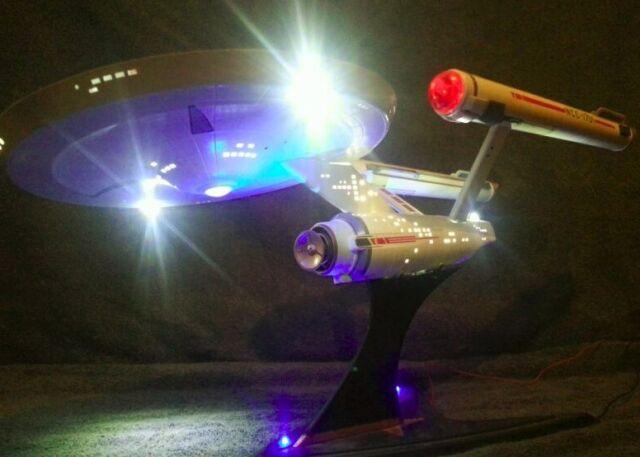 Effect LED Lighting Kit Enterprise 1701 1 600 TOS Polar Lights Star Trek