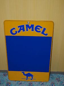 Camel-Tafel-Werbung-Schild-Zigaretten-034-Raritaet-034