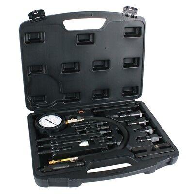Kompressionsprüfer Werkzeug Kfz Prüfgerät für Diesel Motoren Kompressionstester