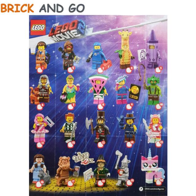 LEGO Figurine Minifigure 71023 Série The Lego Movie 2 Series Au Choix NEUF NEW