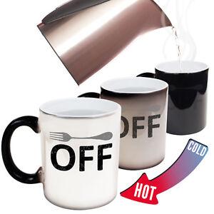Funny Mugs - Fork Off - Joke Kitchen MAGIC NOVELTY MUG secret santa