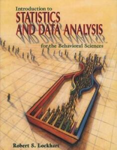 Details about Introduction to Statistics and Data Analysis : For the  Behavioral Sciences by
