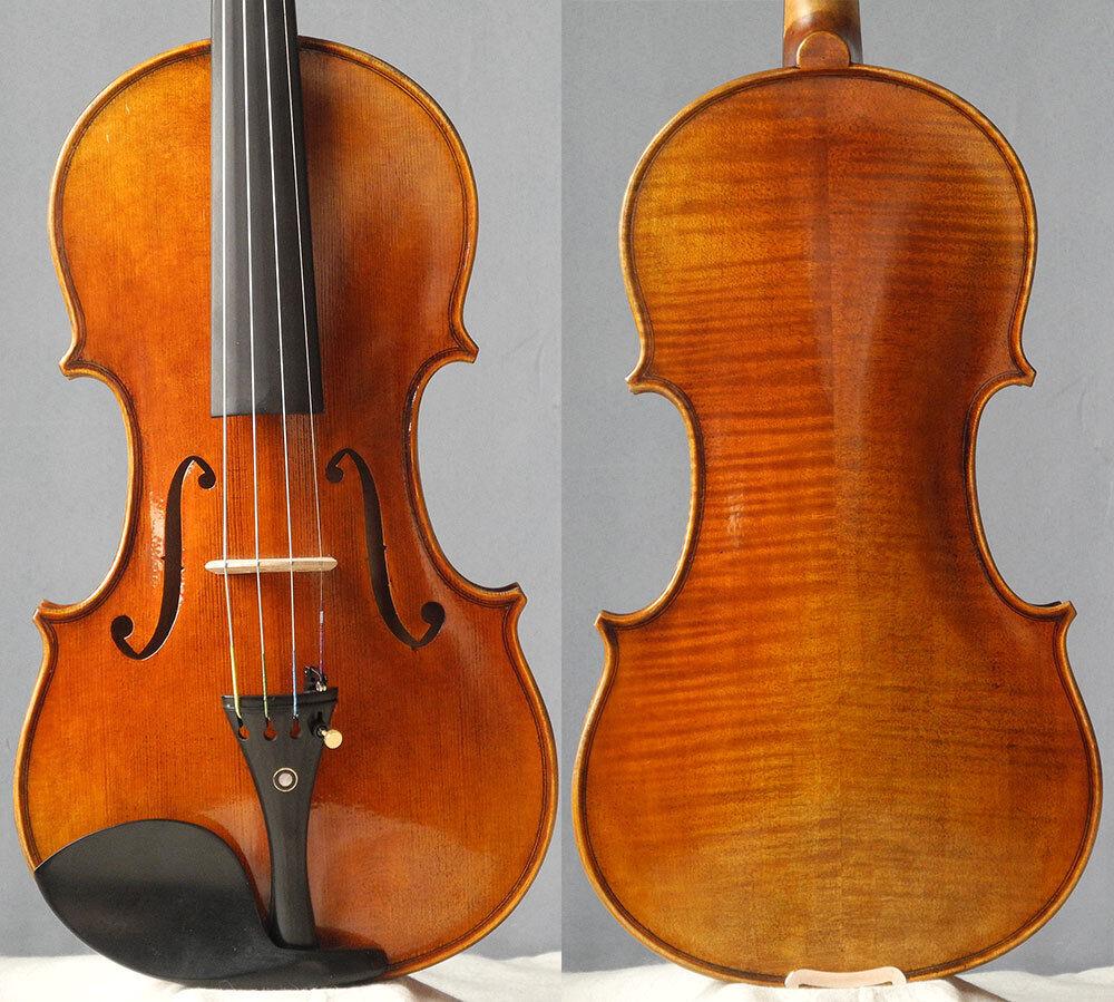 Meister handgefertigte Geige Guarneri 4 4 Geige, antiker Lack Violon, guter Ton