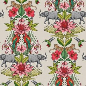 Colonial-Elephant-Jungle-Papier-Peint-Rouleaux-Rasch-270419