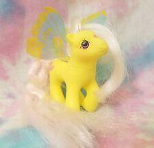 My Little Pony G1 LITTLE FLITTER Flutter Ponies Yellow Hummingbird Hasbro 1988