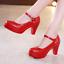 New-Womens-Closed-Toe-Platform-Pumps-Stiletto-High-Heel-Sandals-Breathable-Shoes thumbnail 12