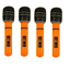 Inflatable-Microphone-Giant-80s-40cm-Blow-Up-Neon-Disco-Karaoke-Party-Mic-X99115 thumbnail 5