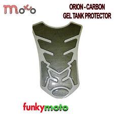 Motocicleta Moto Tanque Protector Pad Fibra De Carbono efecto Orion Gel stick en