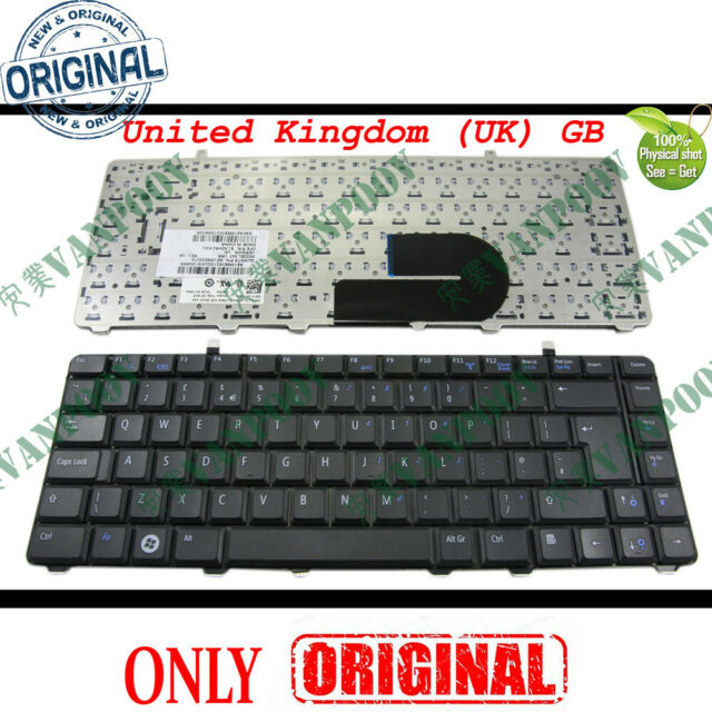 Dell Vostro 1015 Uk Layout Keyboard 0p904x 23e For Sale Online Ebay