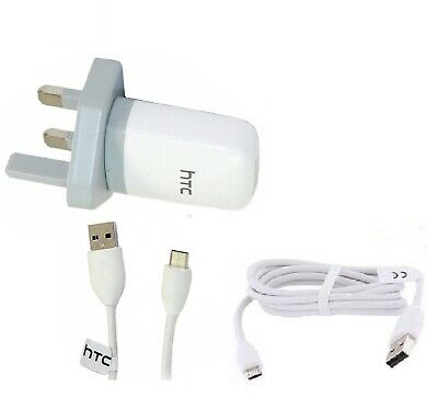 100% Wahr Genuine Htc Mains Wall Charger Plug & Micro Usb Cable For Htc M8 M9 Hd7s M7 M8s Diversifiziert In Der Verpackung