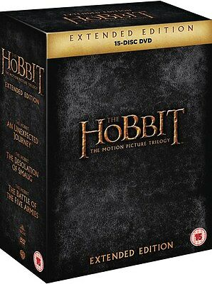 ❏ The Hobbit: Trilogy Extended Edition DVD Collection Set ❏ Journey Smaug Five