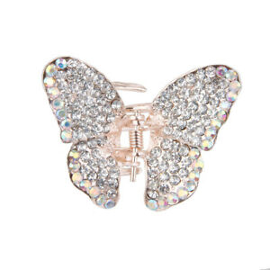 Clear-Diamante-Small-Butterfly-Hair-Claw-Clip-Grip-Clamp-Small