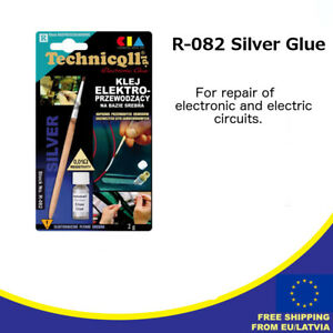 72bfc7ff11 Details about Technicqll R-082 Electro Conductive Silver Glue for Car  window defogger repair