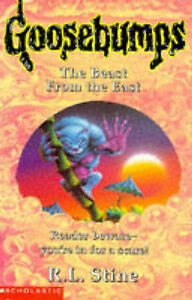 The-Beast-from-the-East-Goosebumps-Stine-R-L-Very-Good-Book