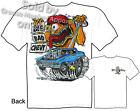 Rat Fink T Shirt Big Bad Chevy Biscayne 62 Impala Ed Roth Tee Sz M L XL 2XL 3XL