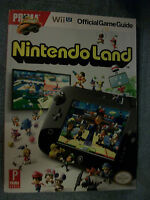 Nintendo Land Wii Official Game Guide Paperback