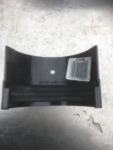 Osma Black 0T008B 112mm Connector C.I HR Gutter