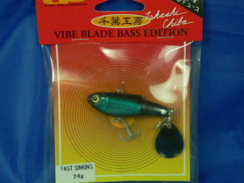 jigging Duel fast Sinking Vibe Blade Bass Edition 24gr 55mm pesca spinning