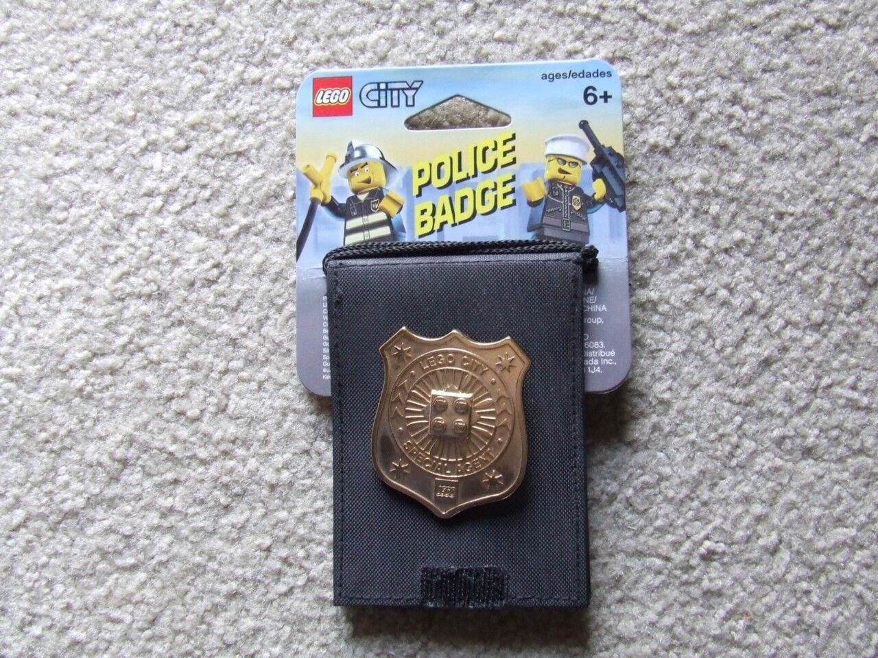 * Nuovo *   Metal   Lego City Police Badge Item. 4297425   Year 2006   Rare Set