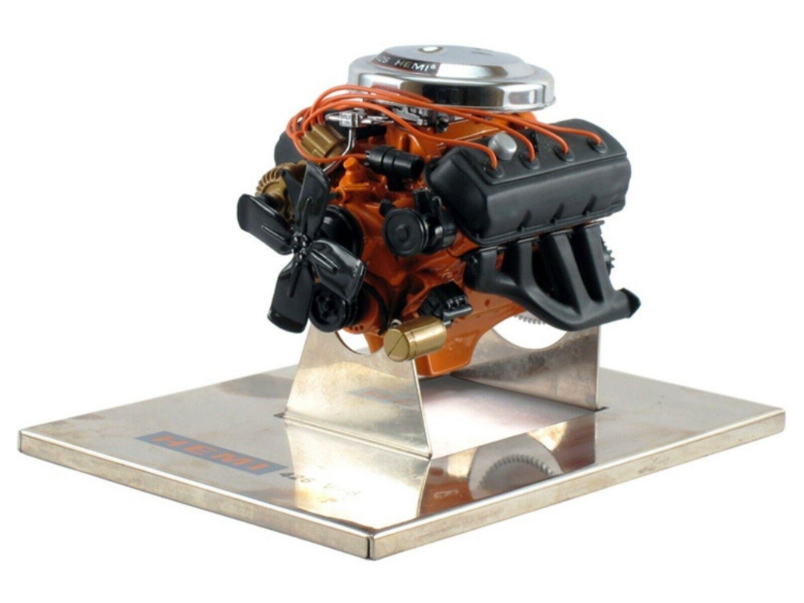 Wow extrêmement rare moteur 1964 CHRYSLER 426 426 426 Hemi 7.0 L V8 425hp 1 12 signature fcf9ed