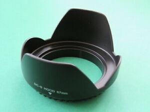 Lens-Hood-Flower-67mm-for-Sigma-18-125-mm-3-8-5-6-DC-OS-HSM-Lens