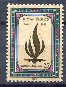 19221-UNITED-NATIONS-New-York-1988-MNH-Human-Rights