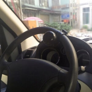 Universal-Auto-Car-Steering-Wheel-Helper-Knob-Spinner-Handle-Save-Power-Ball-HT
