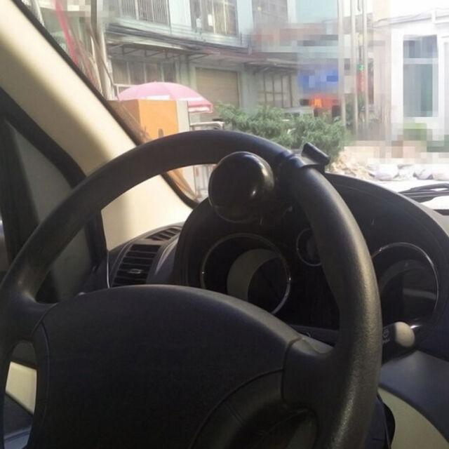 Universal Auto Car Steering Wheel Helper Knob Spinner Handle Save Power Ball HT