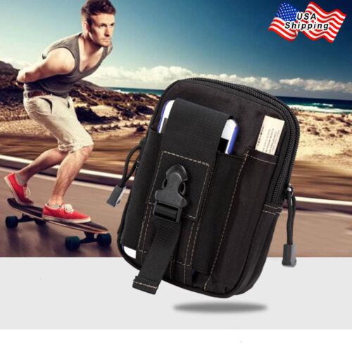 Universal Tactical Pouch Belt Waist Pack Zip Bag Military Belt Pack Phone Pocket