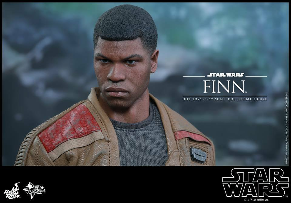 Hot Toys MMS345 Star Wars The Force Awakens - Finn  1/6