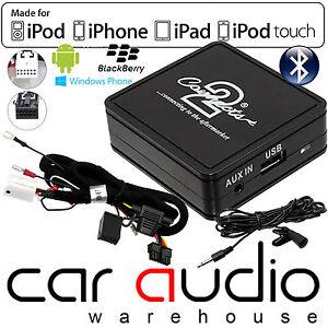 Audi A2 2004-2005 Bluetooth Music Streaming A2DP Adaptor Handsfree Wirless Kit