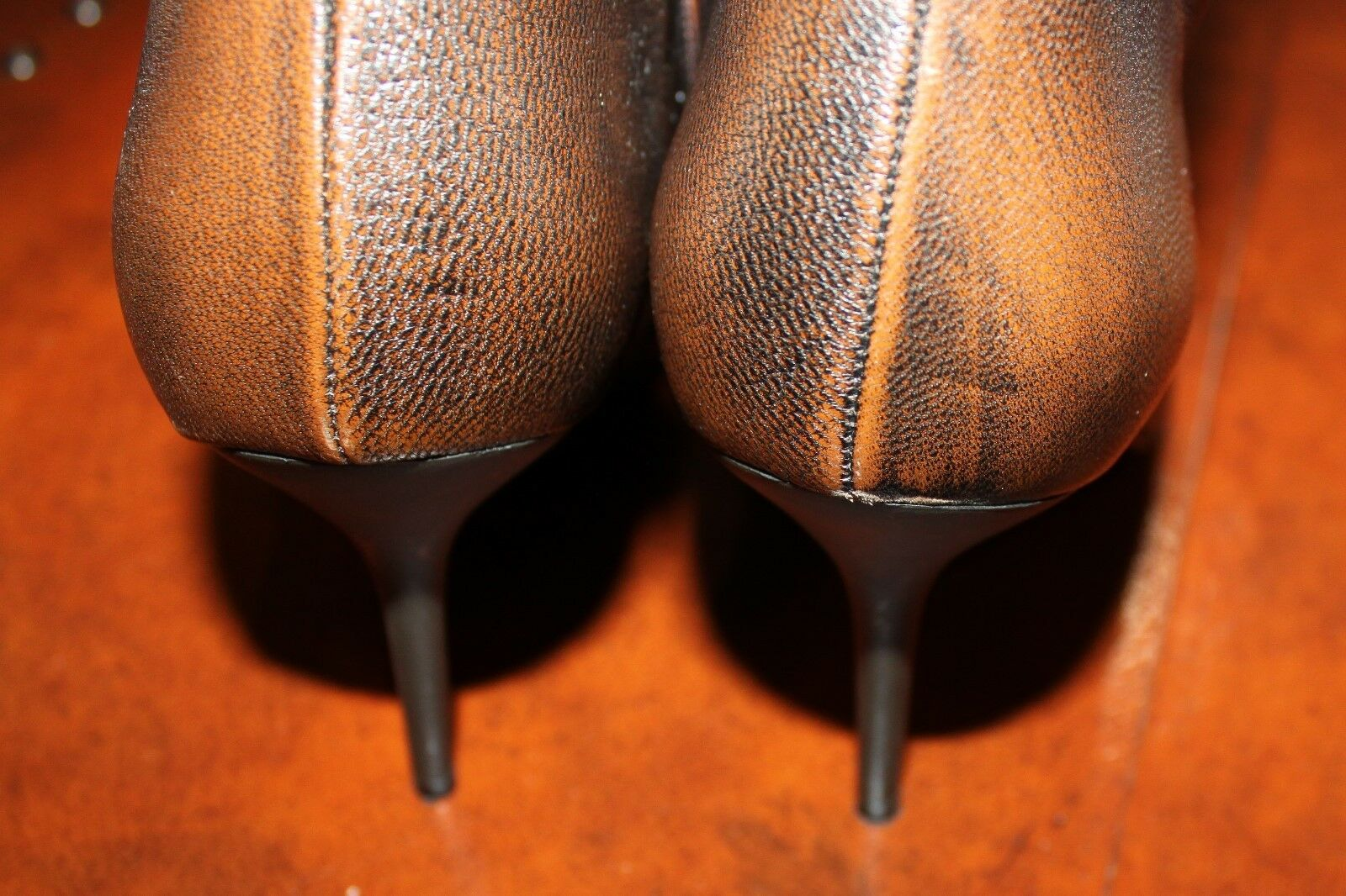 Bolsa Brown Women's Beautiful Brown Bolsa Leather Boots Italy Size 38 (7.5) 79142a