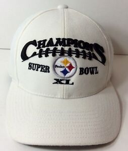 0a21527130c4ae Image is loading Pittsburgh-Steelers-Superbowl-XL-Hat-Puma-Snapback-Super-