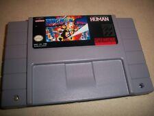 Snes Super Nintendo The Firemen NTSC English Translation Game Fire Men